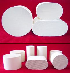 honeycomb_ceramic_catalyst_supports