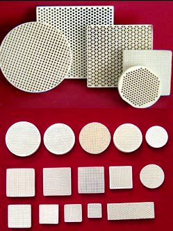 honeycomb_ceramic_heat_accumulation_substrate